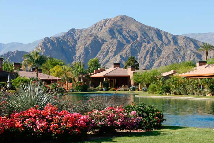 Waterfront luxury homes at Palmilla La Quinta