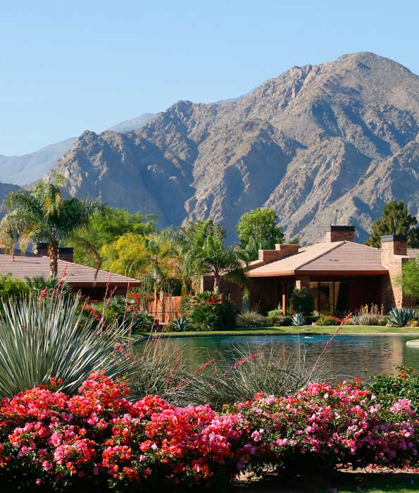 Waterfront luxury homes at Palmilla La Quinta CA