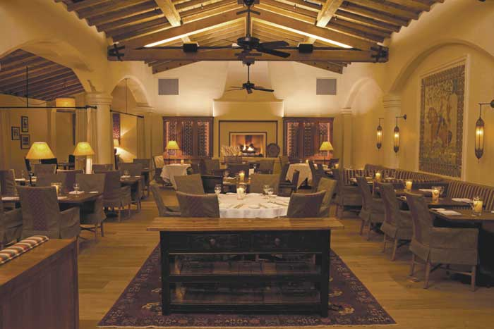 Morgan's dining room la quinta resort