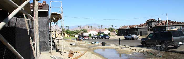 Stonefield Estates Indio New Home Construction