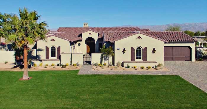 Stonefield Estates Indio Plan-3 Model Home
