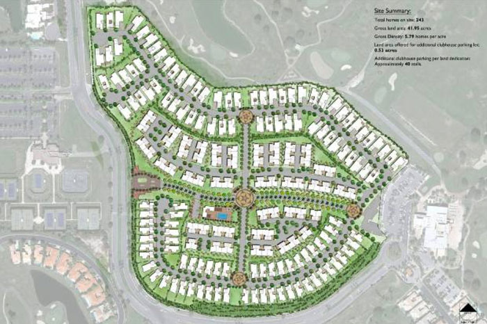 Signature at PGA West La Quinta site plan