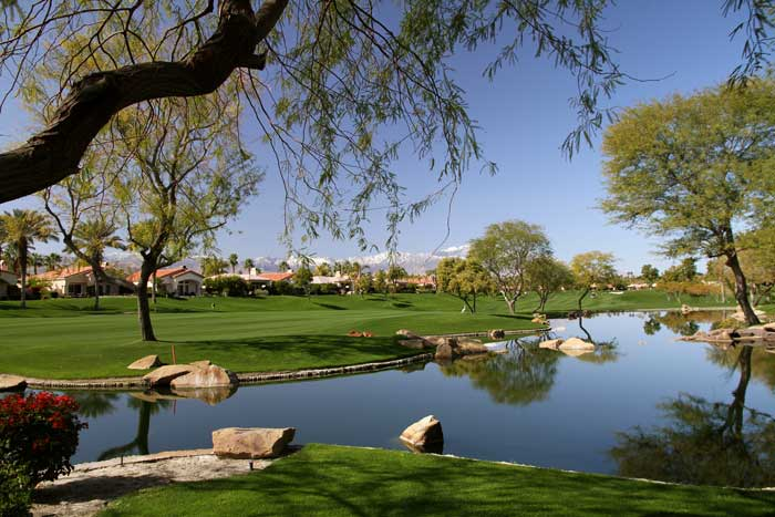 Golf Course homes at Indian Ridge Country Club Palm Desert