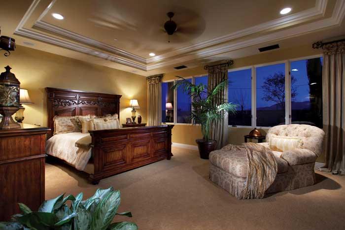 Plan 5 - Master Bedroom