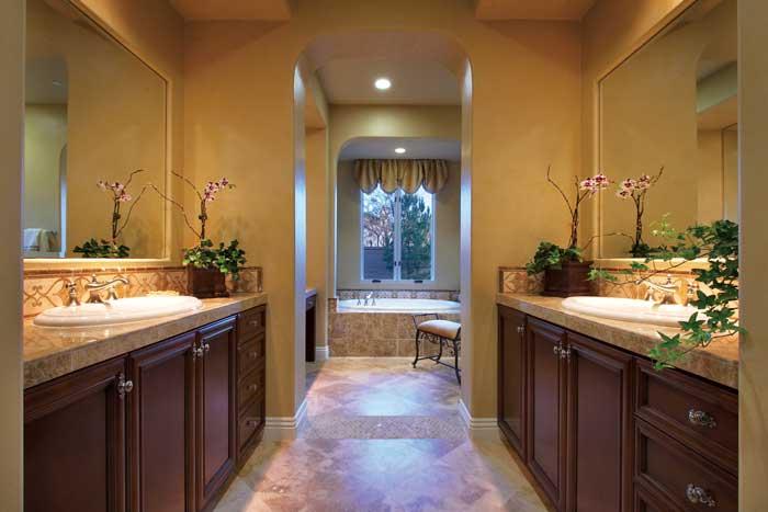 Plan 5 - Master Bathroom