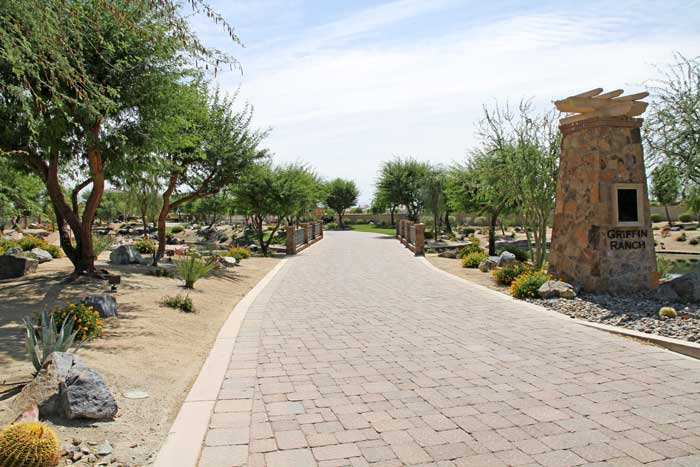 Griffin ranch model homes