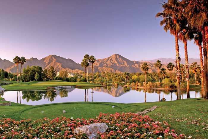Indian Wells Golf Resort (Hyatt Resort In Background)