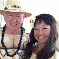 Bob & Tina Cunard in the Halloween Spirit!