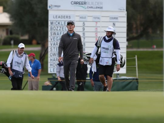 PGA Tour golfer Danny Lee participated in the CareerBuilder Challenge golf tournament in 2016. (Photo: Richard Lui/The Desert Sun)