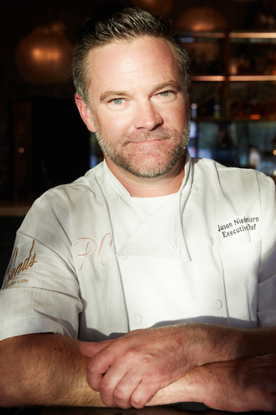 Chef Jason Nierderkorn PHOTOGRAPH BY JAIME KOWAL