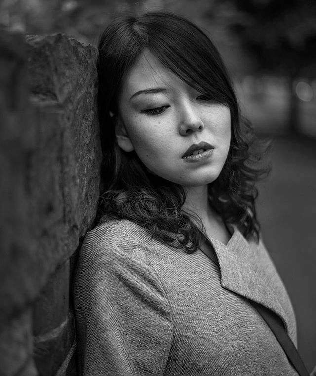 // Melancholy Monday // Model: @meeraxjiao #blackandwhite #blackandwhitephotography #mood #moody #portrait #portraits #beautifulwoman #beautiful #beauty #melancholy #natural #naturallight #asiangirl