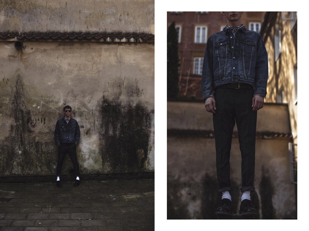 Shirt, Jacket & Shoes - H&M / Trousers - Mango / Belt - COS