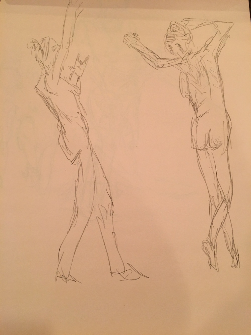 1 minute poses