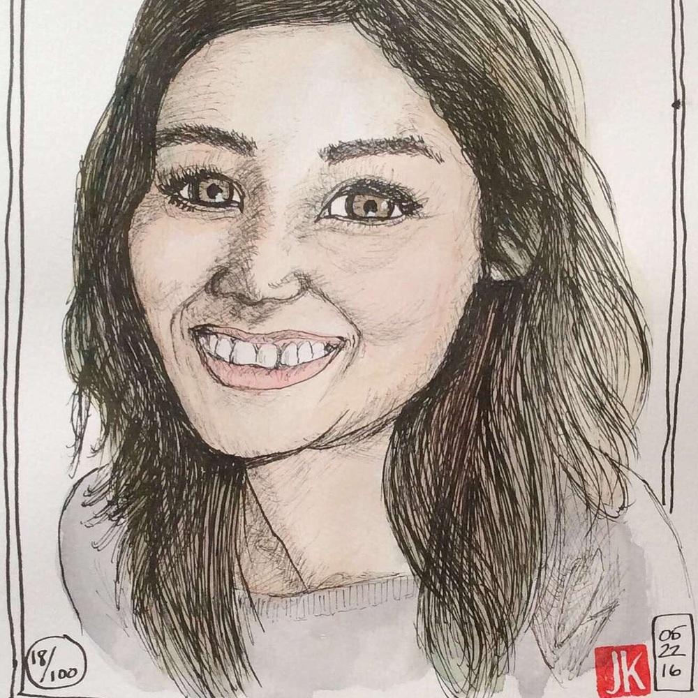 Julie - portrait 18/100