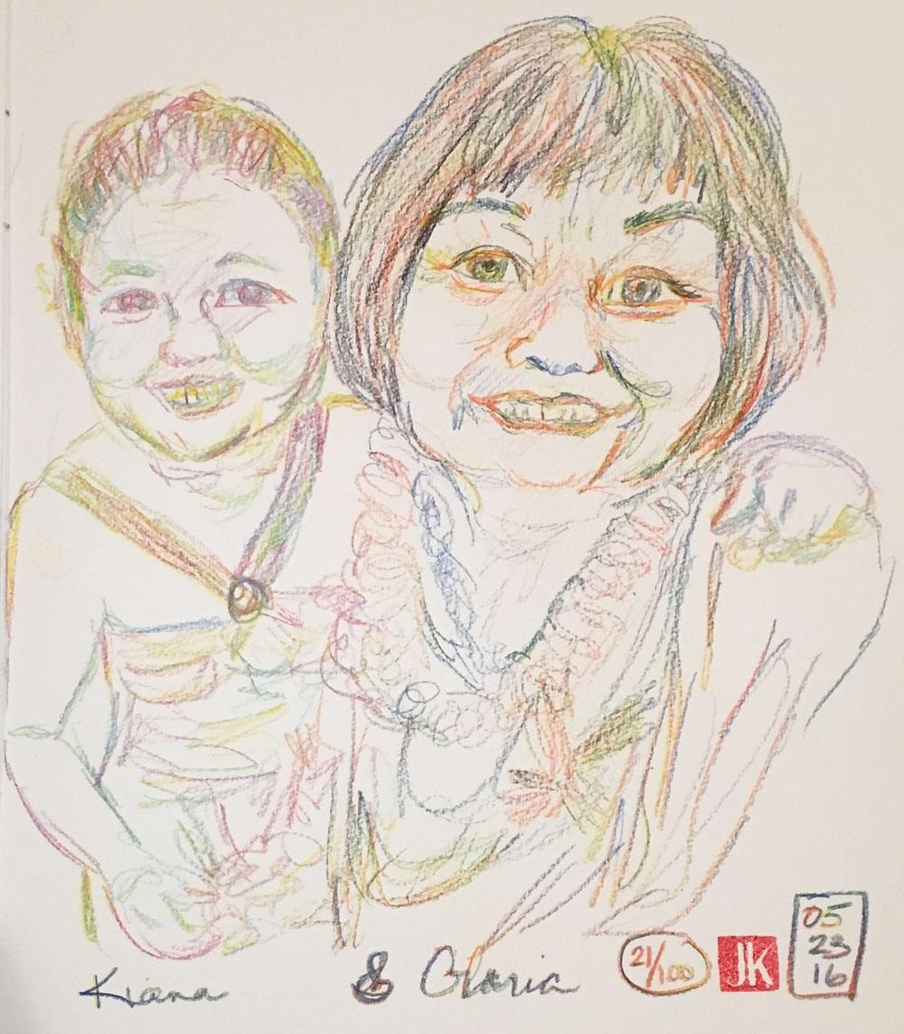21/100 - Kiana & Gloria