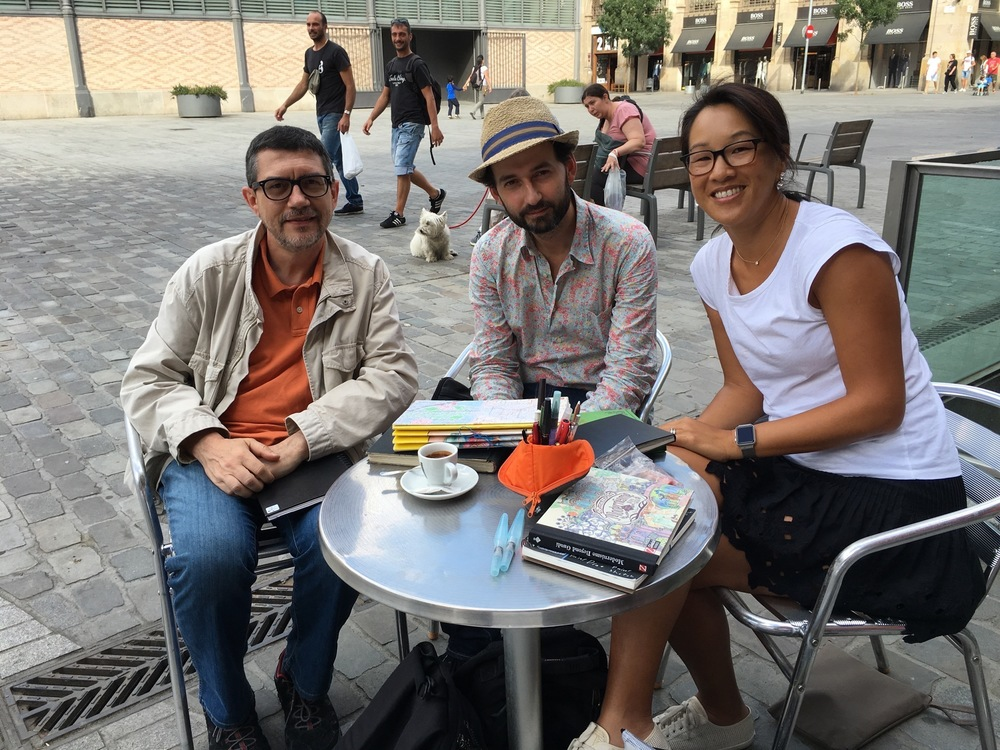 Miguel Herranz, Lapin, and me!