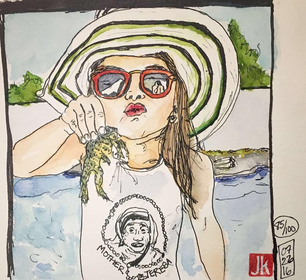 Portrait 85/100