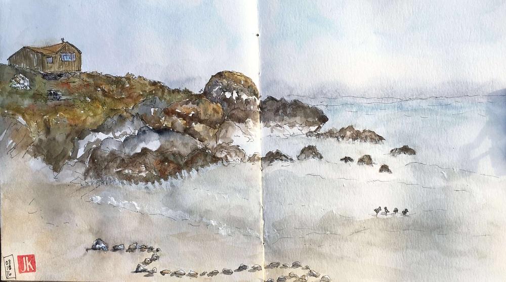 My beach sketch