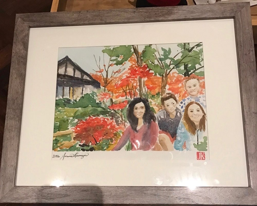 Final version in the frame