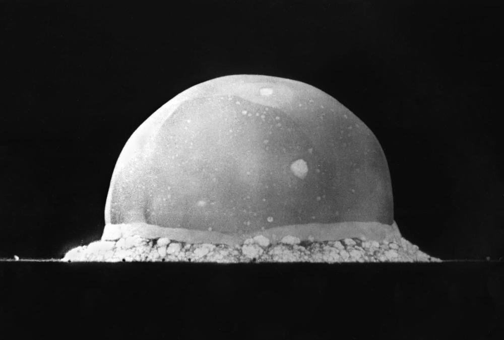 July 1945. Trinity Nuclear Test at Los Alamos