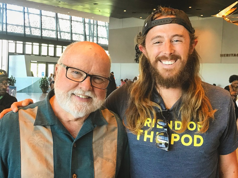 Just hanging with my pal Richard Rohr.