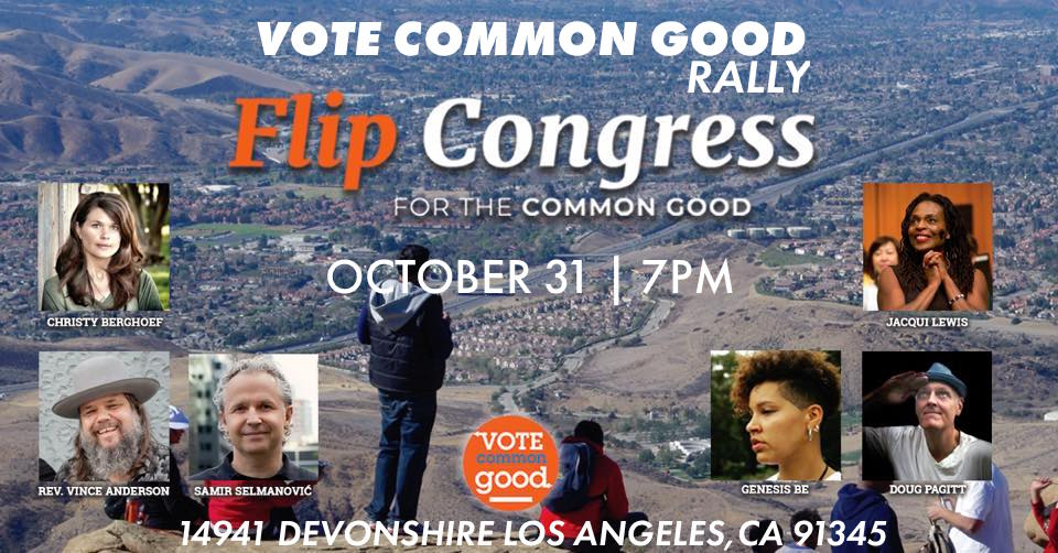 Poster Vote Common Good Santa Clarita Los Angeles County Mission Hills Christian Church October 31 jpeg.jpg