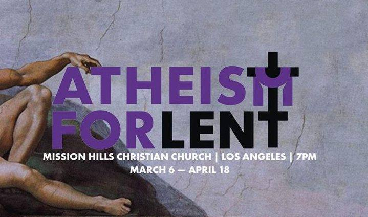 """Atheism for Lent - Our community has been in conversation around Peter Rollins' 40 day Lenten program """"Atheism For Lent,"""" which introduces a variety of thinkers, writers, and mystics that have challenged traditional notions of god. So far, it's illuminated our experiences, doubts, and questions that many of us had not previously given much thought. You can join us by sending us a message on social media or supporting Peter's work or checking out one of his many great books! I recommend starting with How Not To Speak of God."""