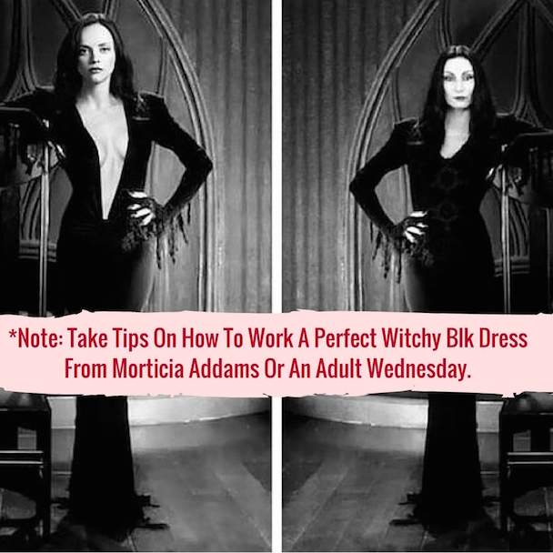 Morticia x Wednesday Image Source: Clipd.com