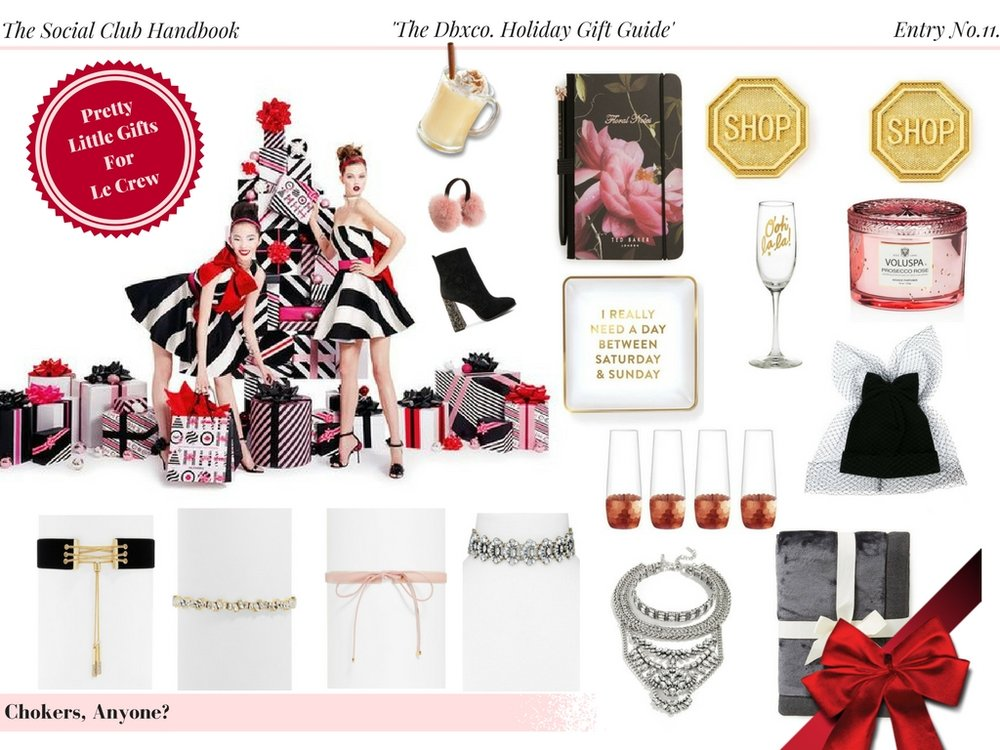 The Dbxco. Holiday Gift Guide | Pretty Little GIfts For Le Crew Under $100