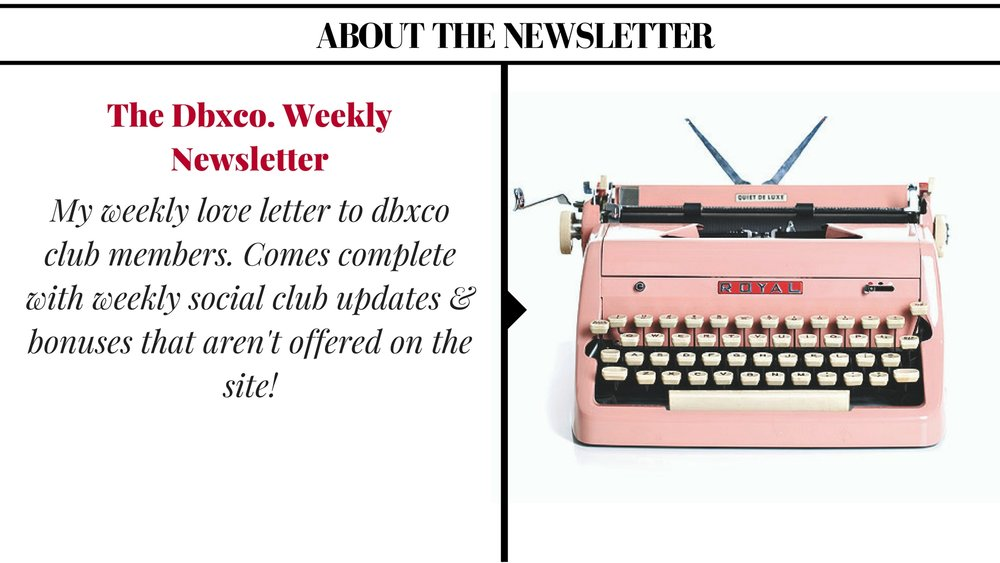 The DBXCO. Newsletter