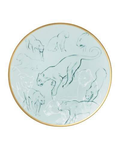 Hermà ̈s Felines Carnets d'Equateur Bread & Butter Plate | dbxco buy yourself a gift shop