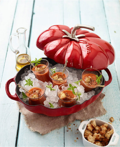 Staub Enameled Cast Iron 3-Qt. Tomato Cocotte | dbxco. buy yourself a gift shop