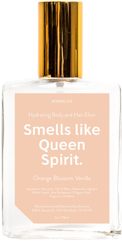 anese Smells Like Queen Spirit Soothing Body & Hair Elixir | dbxco. buy yourself a gift shop