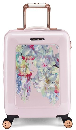 Ted Baker London Small Hanging Gardens Four Wheel Suitcase | dbxco. buy yourself a gift shop