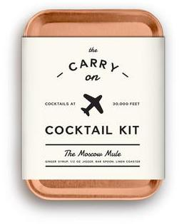 W&P Design Travel Carry on Moscow Mule Cocktail Kit (Mixed Set of 2) | dbxco. buy yourself a gift shop