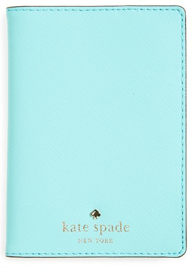 Kate Spade New York 'Cedar Street' Leather Passport Holder | dbxco. buy yourself a gfit shop