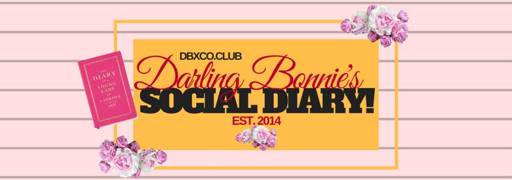 Darling Bonnie's Social Diary Header