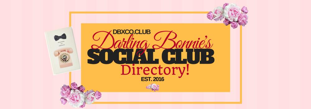 Darling Bonnie's Social Club Directory