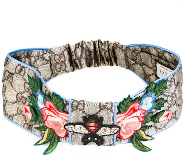 dbxco dress up --- Gucci GG Supreme embroidered headband