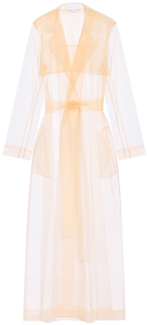 dbxco. dress up --- Long Tulle Trench Coat