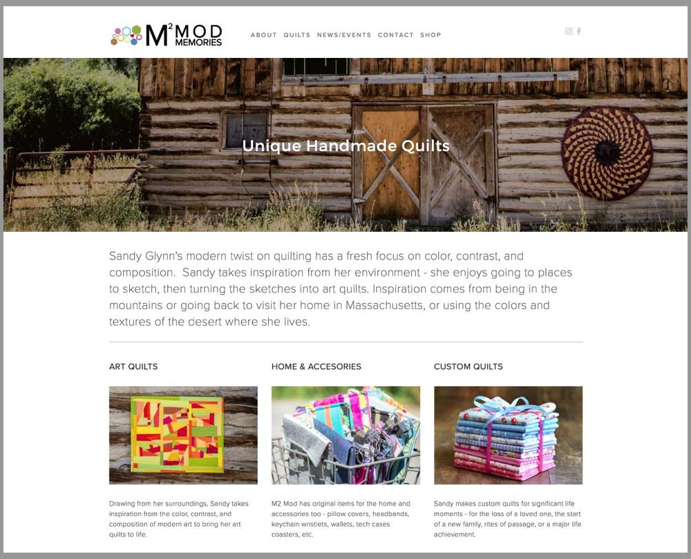 M2 Mod Quilts Website