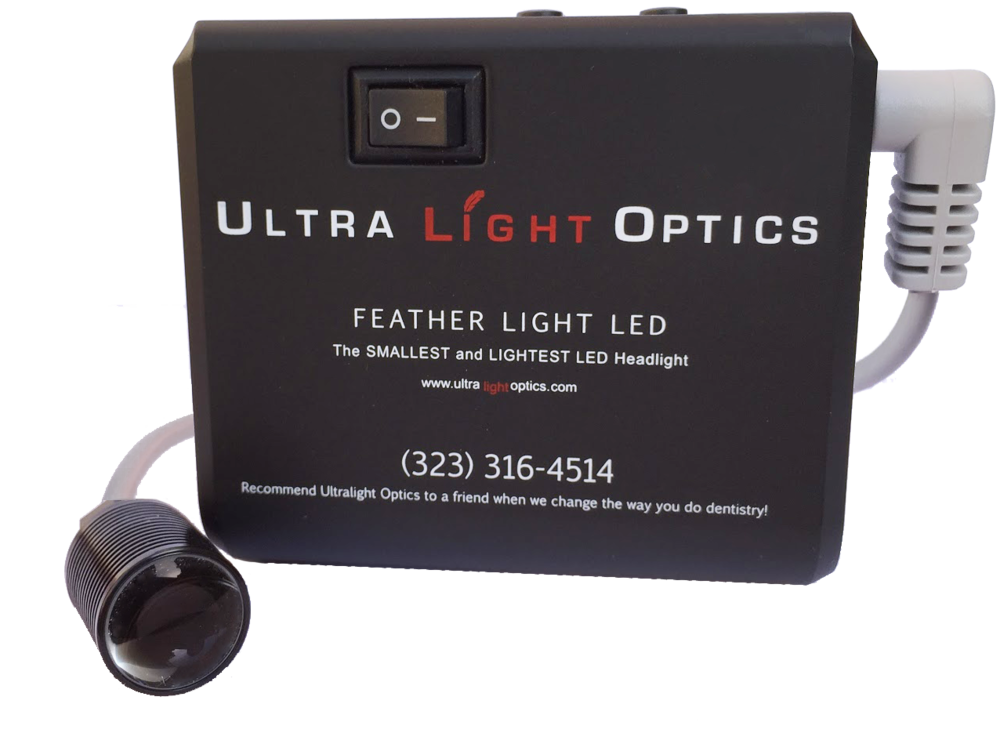 Feather Lite standard battery by Ultra Light Optics UK