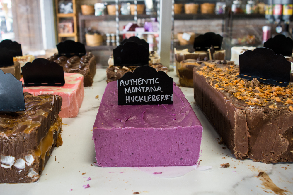 Authentic Huckleberry Fudge