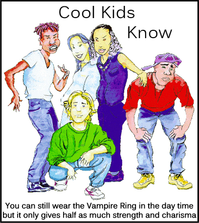PersonOrPersons:  Cool Kids Know Vampire Rings