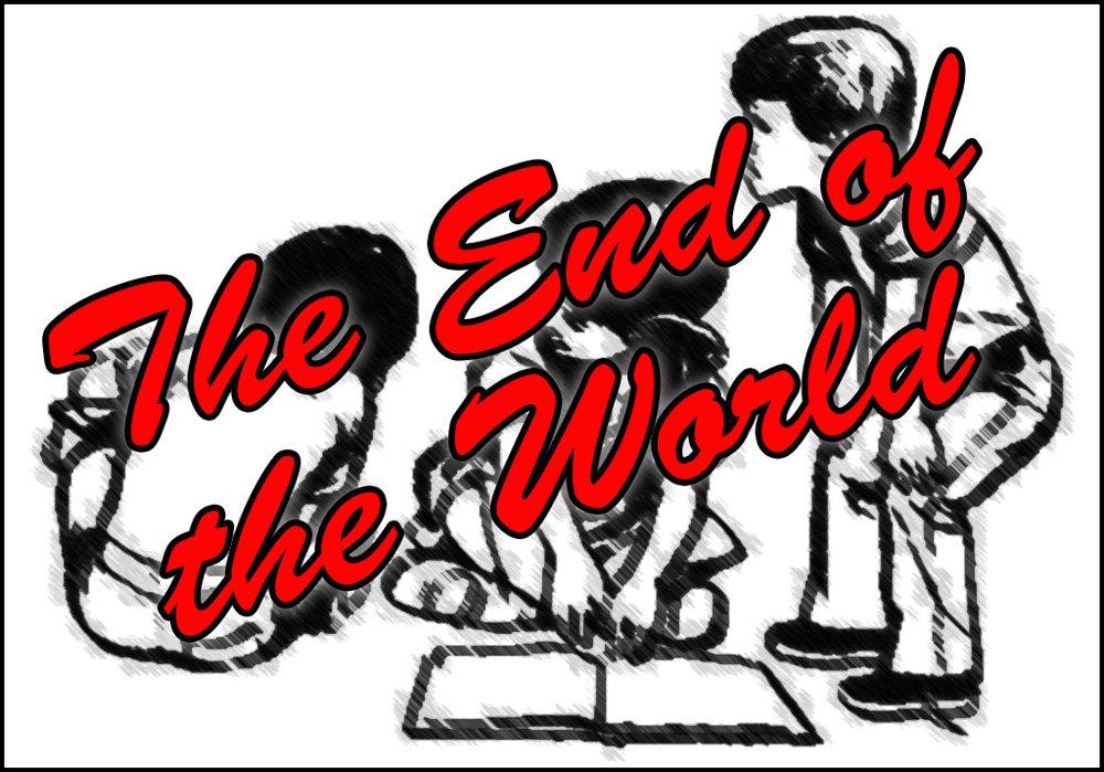 Click Thru Comics Menu - The End of the World