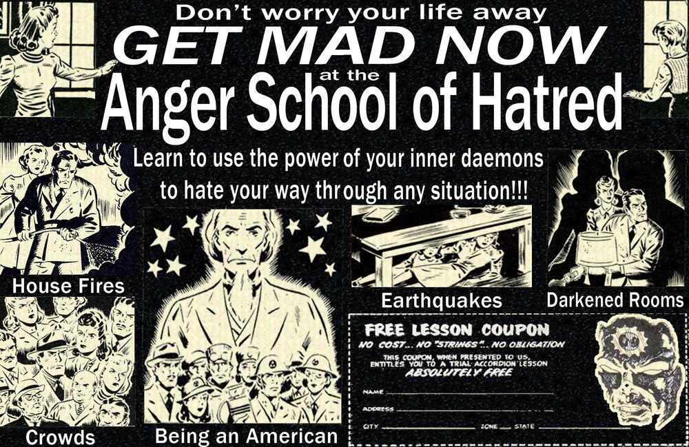 Anger School of Hatred