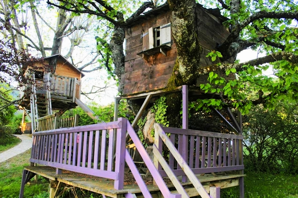 Children's Double Tree House