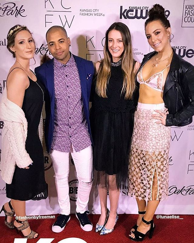 // we got media passes? // @kc_fashionweek with @fashionbyfreeman @dcvanterpool and @sideofglam 😝 // . . . . .  #fashionpost #instastyle #fblogger #lookbook #fashionlover #outfitoftheday #ootdshare #lookoftheday #mylook #fashionable #currentlywearing #fashionblog  #celebrity #celebrities #celeb #famous #celebritystyle #actress #hollywood #redcarpet #celebritynews #star #actor #celebritynews #EntertainmentNews #celebrity #celebrityblogger  #ironichashtags