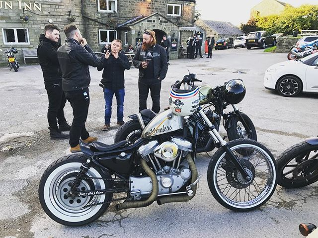 Decisions decisions, what shall we have for tea gents? - #harleydavidson #harleylife #harleydavidsonmotorcycles #sportster #sportster48 #sportster883 #sportster1200 #sportstergram #chopper #bobber #rideout #rideinstyle