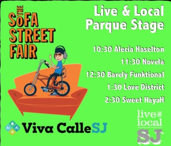 Guess who's back. Back again....The boys are back in town and we're going to be playing the @liveandlocalsj Parque stage this upcoming @sofastreetfair (09/23) at 1:30pm! • Looking forward to seeing you all there! Also, we get to share the stage with our band family @sweethayah! • • • We released a brand new music video recently! If you haven't seen it yet, check out the link in bio -LD